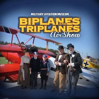 Military Aviation Museum Biplanes and Triplanes Air Show